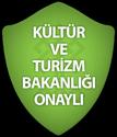 Kültür ve Turizm Bakanlığı Onaylı