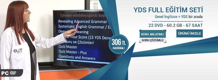 Genel İngilizce ve YDS Görüntülü Eğitim Seti