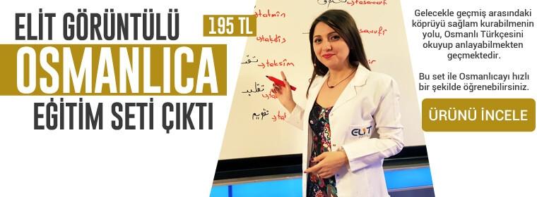 Osmanlıca Görüntülü Eğitim Seti
