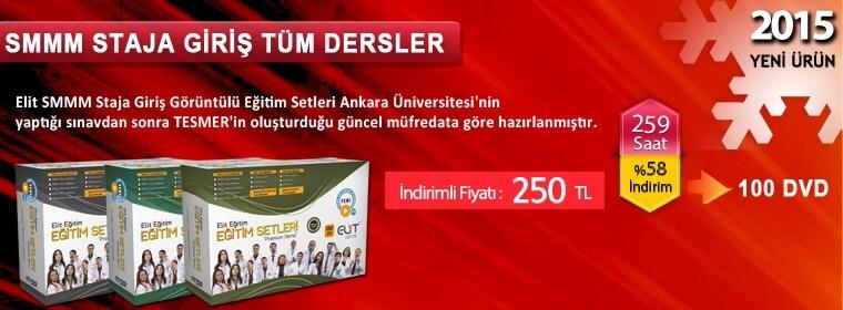 SMMM Staja Giriş Tüm Dersler Kampanya 250 TL