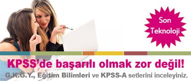 KPSS-A KPSS Genel Kültür Genel Yetenek ve Eğitim Bilimleri Setleri