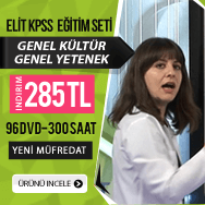 KPSS Genel Kültür Genel Yetenek Tüm Dersler Görüntülü Eğitim Seti Kampanya
