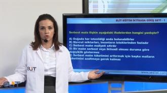 Açıköğretim İktisada Giriş-1 Soru Bankası