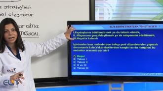 Açıköğretim Stratejik Yönetim-1 Soru Bankası
