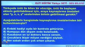 ALES Türkçe Görüntülü Eğitim Seti