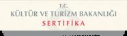 Kültür ve Turizm Bakanlığı Sertifikası