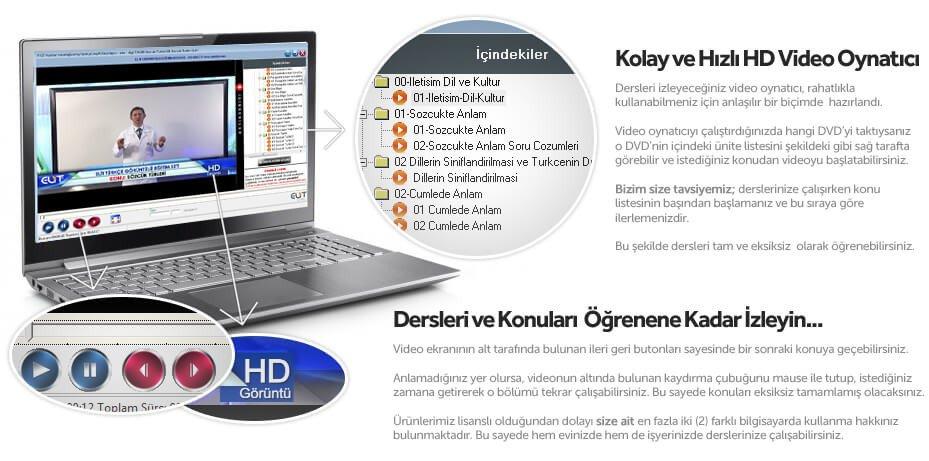 Video Player Ekran Görüntüsü