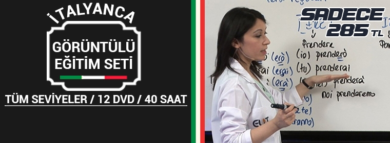 İtalyanca Eğitim Seti (İtalyanca Öğrenmek)