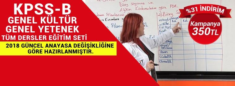 KPSS Genel Kültür Genel Yetenek Kampanya