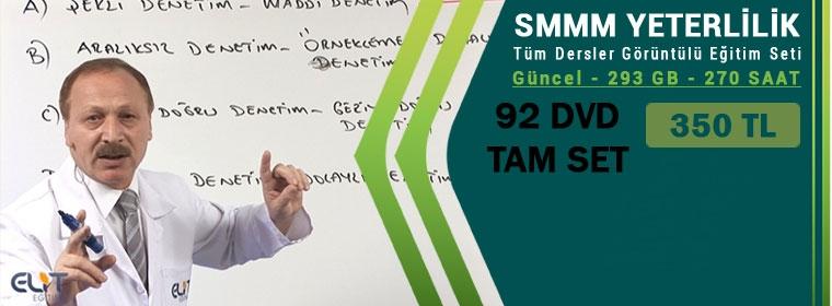 SMMM Yeterlilik Eğitim Seti