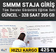 Elit SMMM Staja Başlama Görüntülü Eğitim Seti