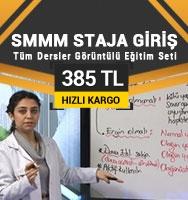 SMMM Staja Giriş Tüm Dersler Kampanyalı Eğitim Seti-385 TL