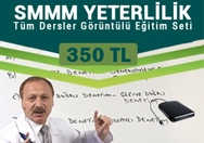 SMMM Yeterlilik Tüm Dersler Kampanyalı Eğitim Seti-350 TL