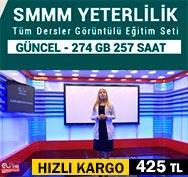 SMMM Yeterlilik Tüm Dersler Kampanyalı Eğitim Seti-425 TL