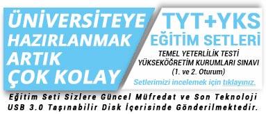 TYT + YKS Tüm Dersler Görüntülü Eğitim Seti Kampanya