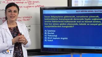 Açıköğretim Genel İşletme Soru Bankası
