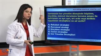 Açıköğretim Stratejik Yönetim-2 Eğitim Seti