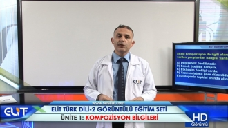Açıköğretim Türk Dili-2 Eğitim Seti