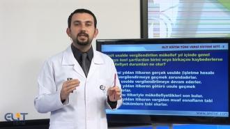 Açıköğretim Türk Vergi Sistemi Eğitim Seti