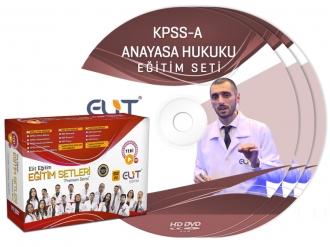 KPSS-A Anayasa Hukuku Görüntülü Eğitim Seti