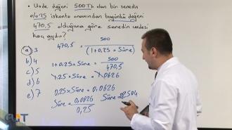 KPSS-A Ticari Aritmetik Görüntülü Eğitim Seti