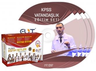 KPSS Vatandaşlık Görüntülü Eğitim Seti