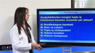 SMMM Yeterlilik İş ve Sosyal Güvenlik Hukuku Görüntülü Eğitim Seti