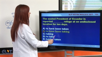Elit Görüntülü YDS (YDT) İngilizce Görüntülü Eğitim Seti